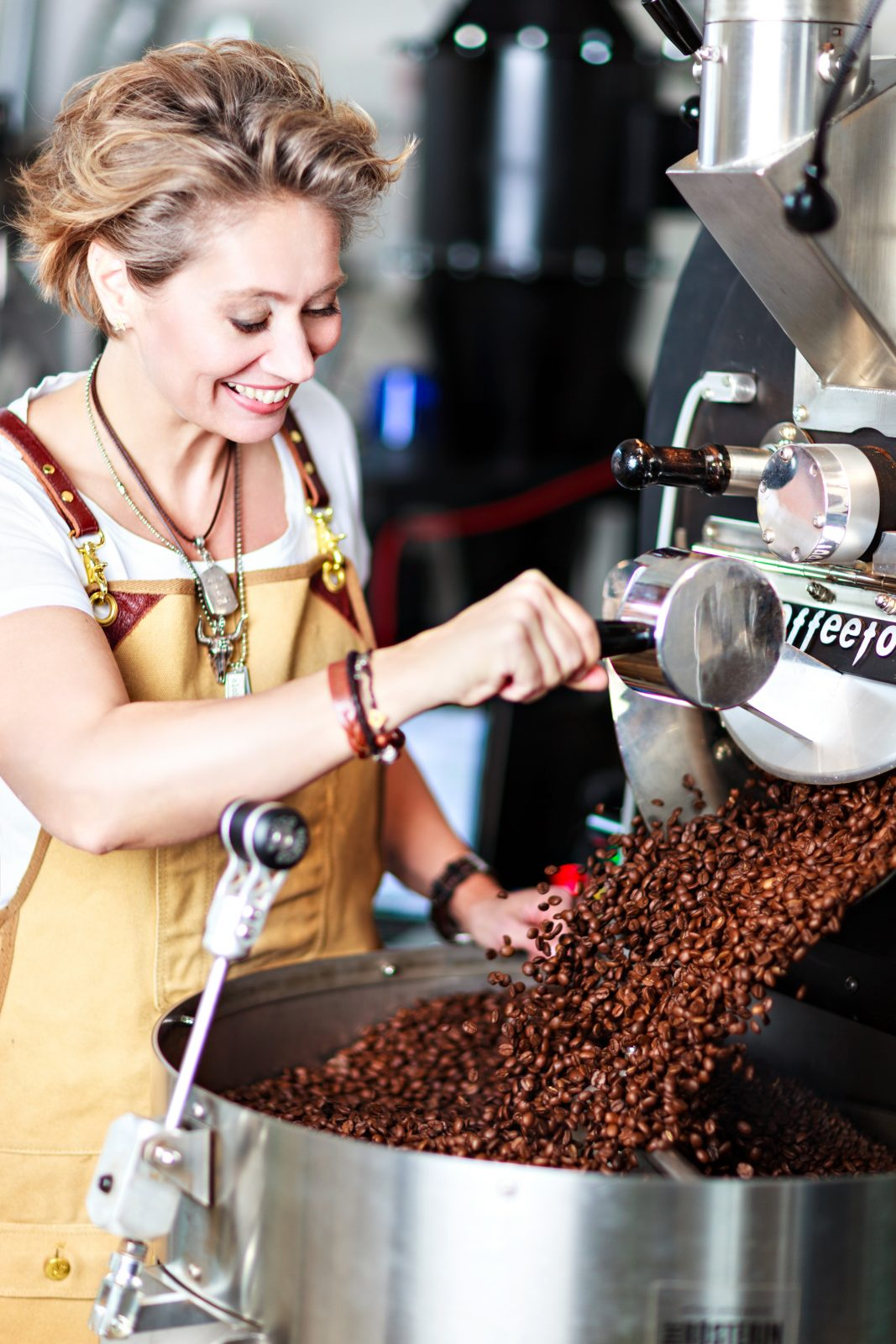 Röstkurse bei Vienna School of Coffee