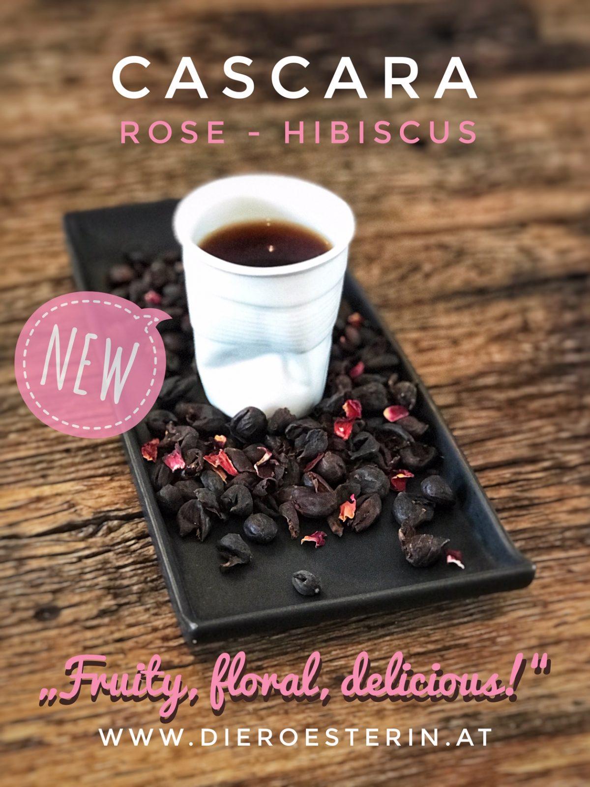 Kaffeekirschen + Hibiskus + Rose
